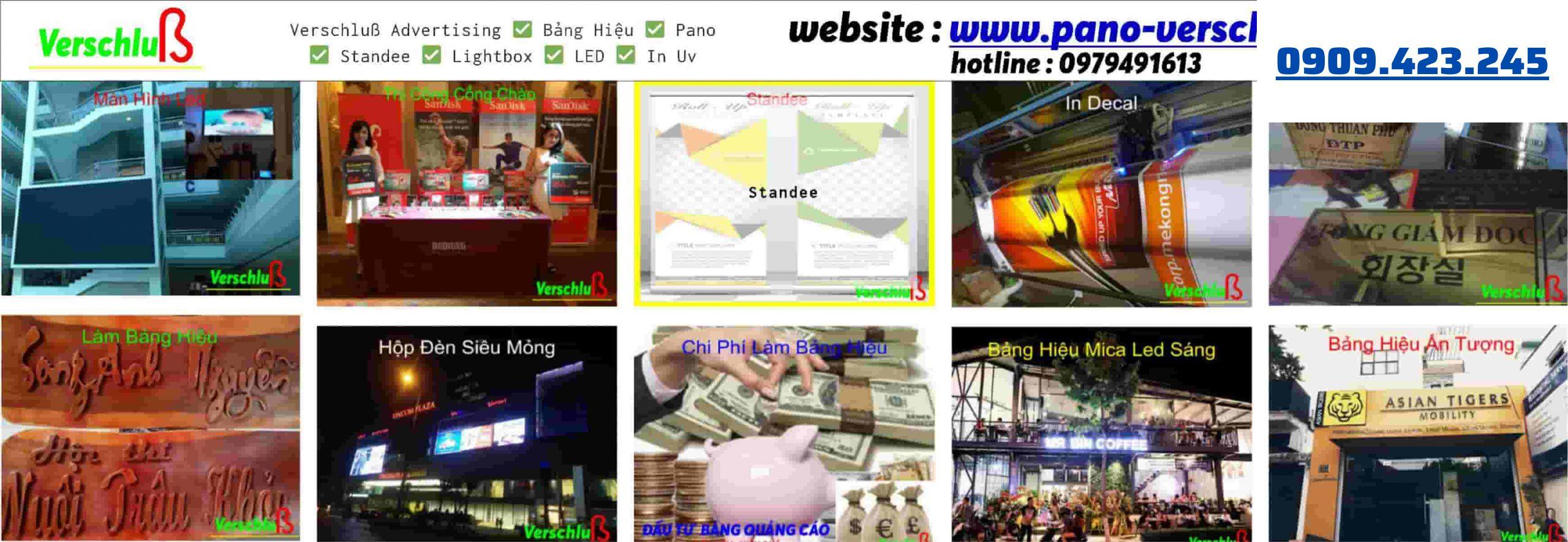 Verschlusss - Top 10 Công Ty Làm Bảng Hiệu Quảng Cáo Uy Tín Tại TPHCM