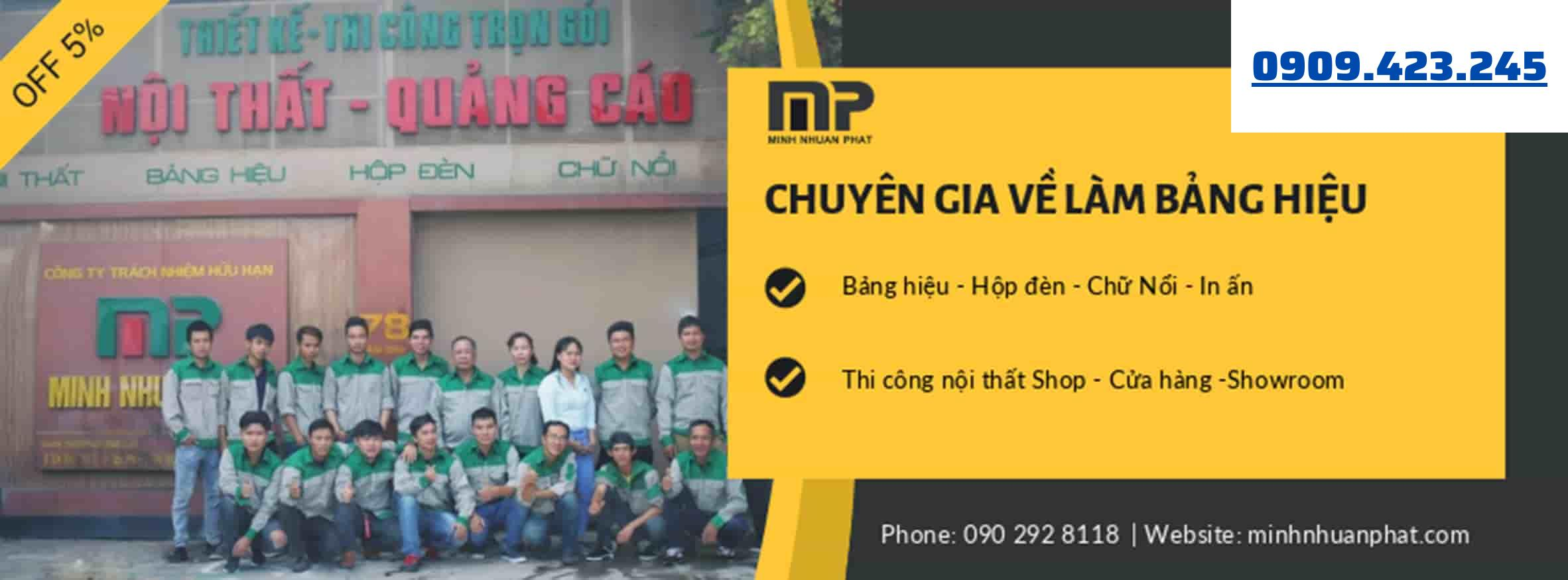 Minh Thuận Phát - Top 10 Công Ty Làm Bảng Hiệu Quảng Cáo Uy Tín Tại TPHCM