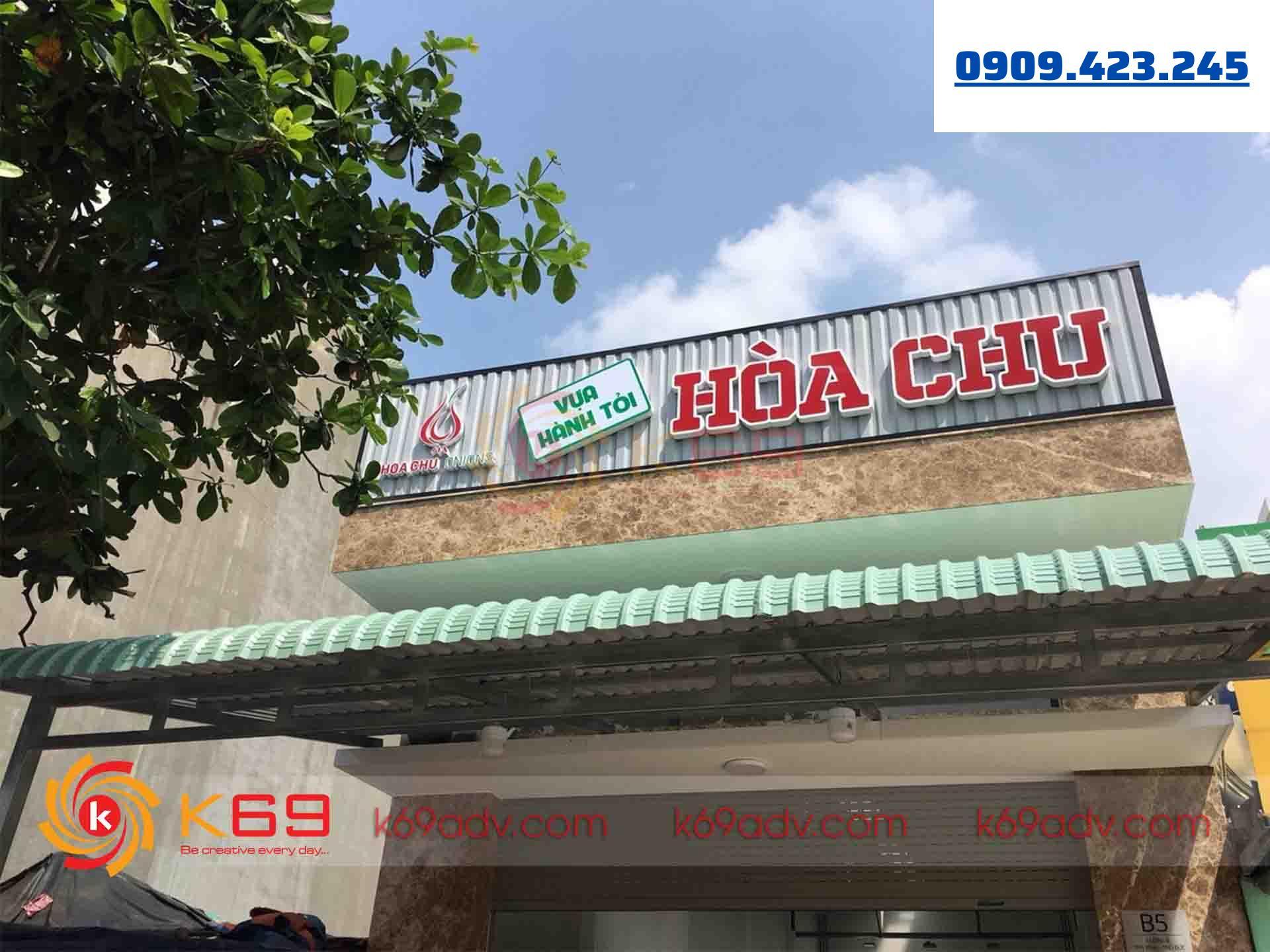 K69ADV Thiết Kế, Thi Công, Làm Bảng Hiệu Tại Quận 6 Uy Tín - Giá Rẻ - Chất Lượng