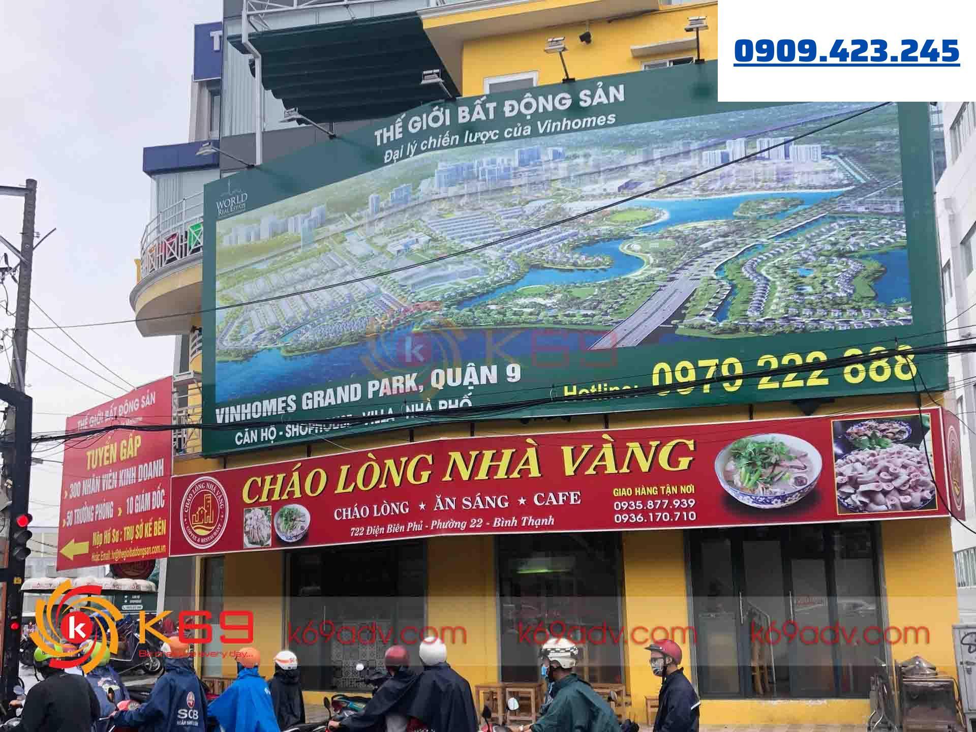 Tổng hợp các loại bảng hiệu quảng cáo phố biến trên thị trường của K69ADV