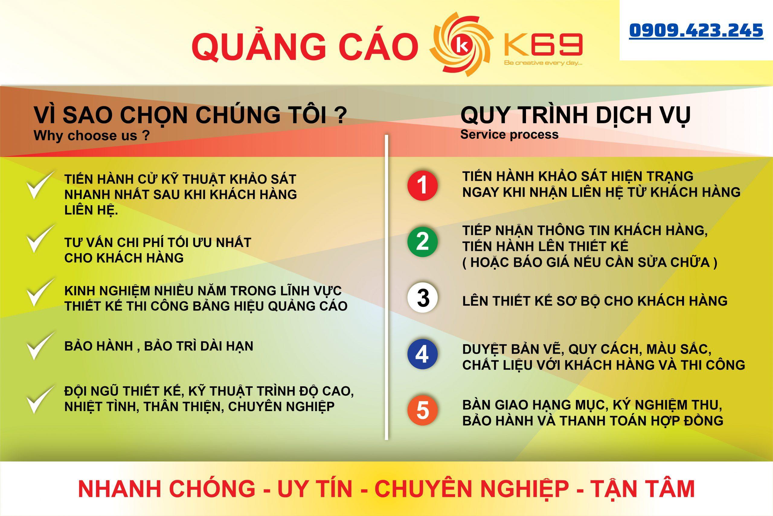Hy vọng sẽ nhận được sự quan tâm và hợp tác của quý khách khi muốn làm bảng hiệu tại quận Tân Bình