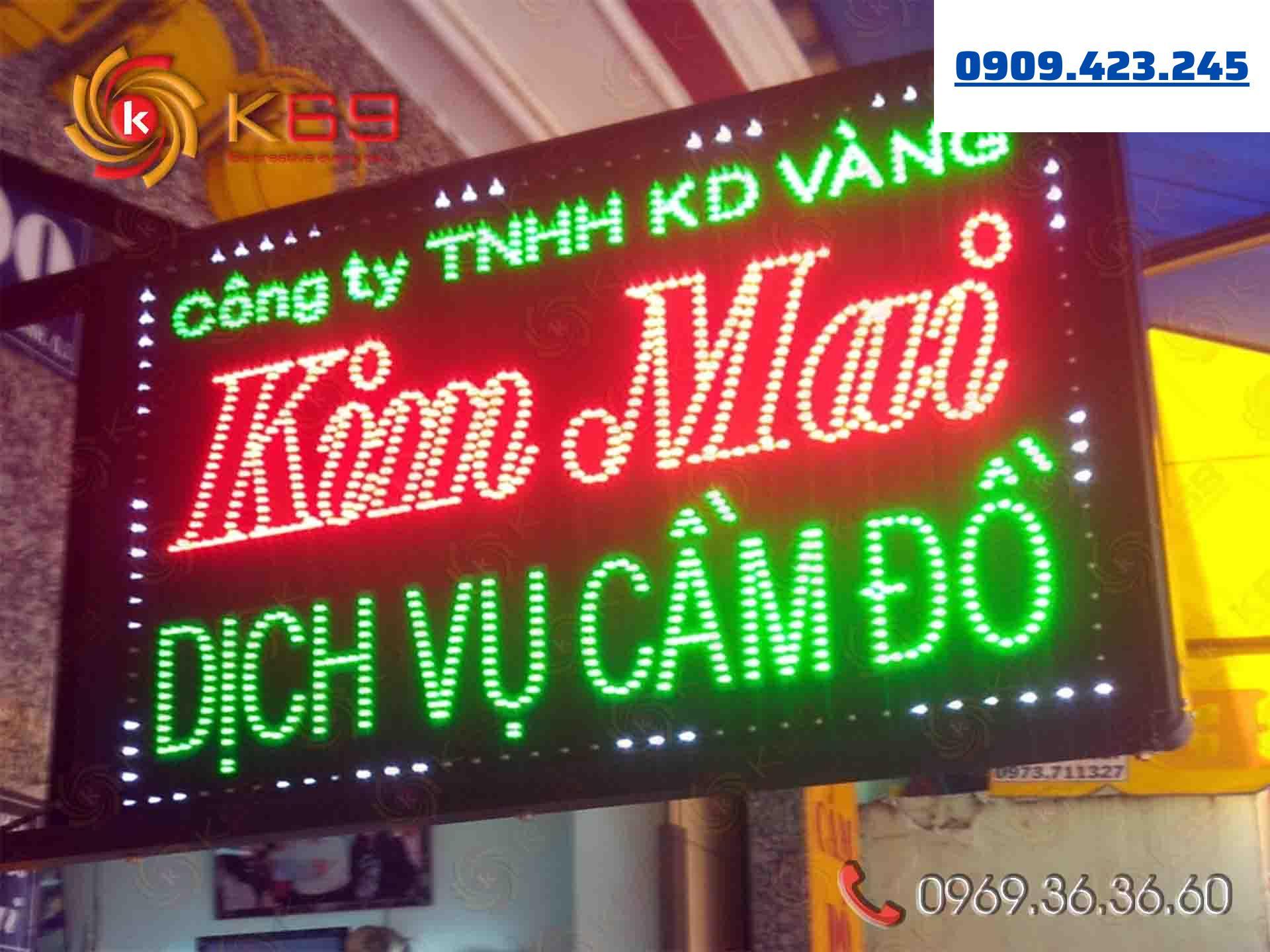 K69ADV chuyên làm bảng quảng cáo uy tín - giá rẻ