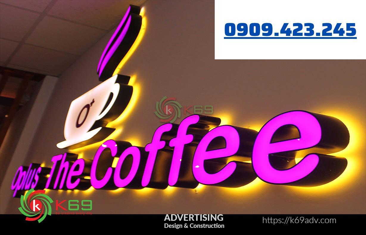 mẫu bảng hiệu quán cà phê
