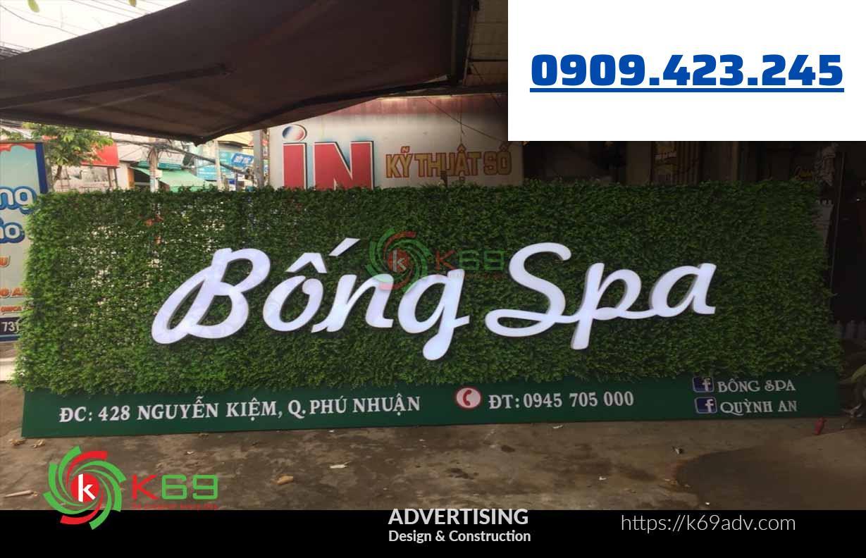 Biển quảng cáo Spa
